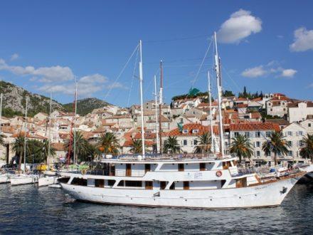 Kroatien Schiff Premium