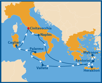 gay Cruise Mittelmeer