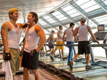 Celebrity Reflection Gym