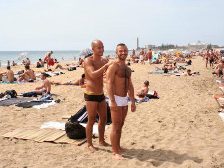 Gran Canaria gay beach schwuler Strand