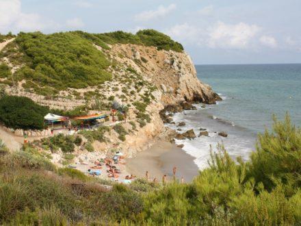 schwuler Strand Sitges gay beach