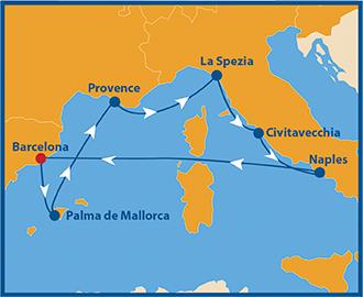 Atlantis Mittelmeer schwule Kreuzfahrt
