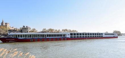 Bijou Bibliothek Rhone schwule Flusskreuzfahrt Frankreich