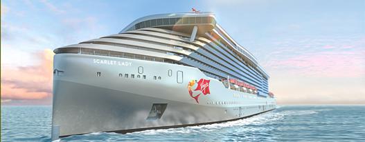 Virgin Scarlet Lady gay cruise schwule Kreuzfahrt