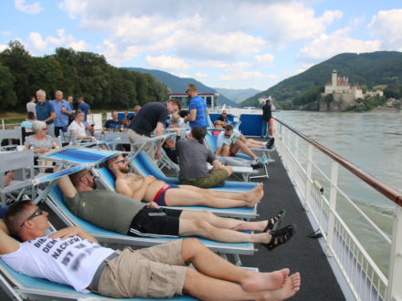 Flusskreuzfahrt schwul Donau Gruppe