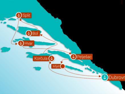 Kroatien schwule Kreuzfahrt gay cruise 2021