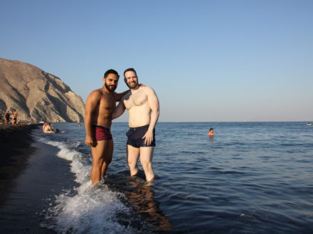 Santorini gay cruise schwule Kreuzfahrt Griechenland