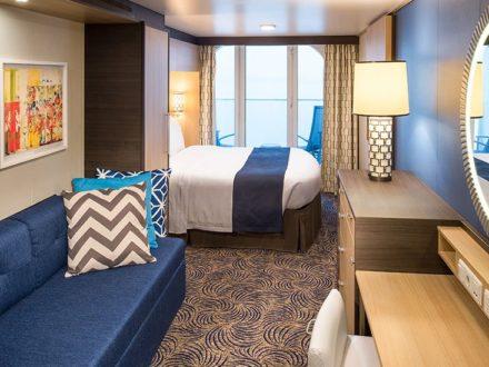 Odyssey Balkonkabine schwule Kreuzfahrt Royal Caribbean