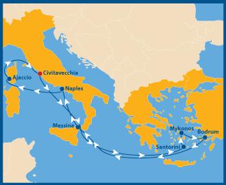 Atlantis schwule Kreuzfahrt Mittelmeer Europa gay cruise 2022