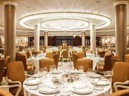 Oceania Riviera schwule Kreuzfahrt Restaurant