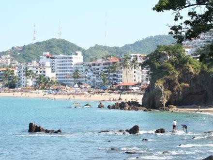 Puerto Vallarta gay beach Blue Chairs beach