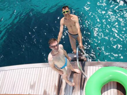 Yacht schwule Kreuzfahrt Kroatien Männer