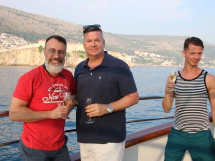 Yacht schwule Kreuzfahrt Kroatien