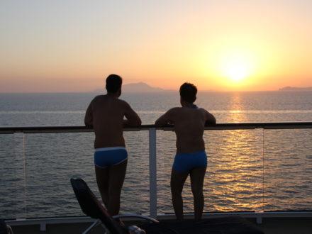 schwule Kreuzfahrt gay cruise Paare