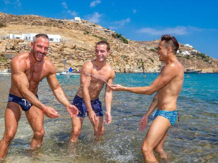 Mykonos gay cruise Atlantis
