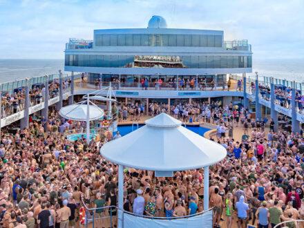 Party schwule Kreuzfahrt Atlantis