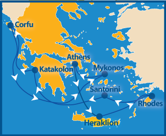 gay cruise 2021 Griechenland Atlantis
