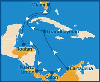 Route gay cruise Karibig schwule Kreuzfahrt 2022