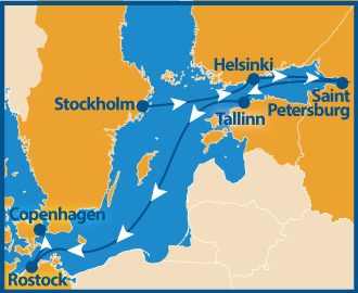 Baltic Cruise gay Sommer 2022 schwule Kreuzfahrt Ostsee
